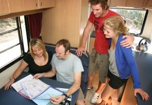 4 berth motorhome hire Australia