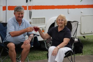 Campervan Rentals and relaxing at 'happy hour'