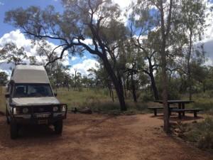 Campervan Rental to Porcupine Gorge