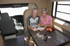 Campervan hire in Australia doesn't require a special drivers licence