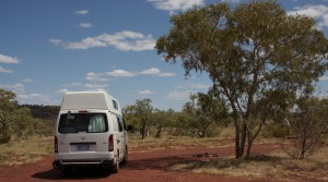 Exploring the area around Karijini NP In a Motorhome Hire