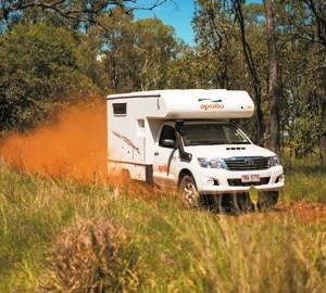 Apollo Adventure 4WD Camper exterior off road