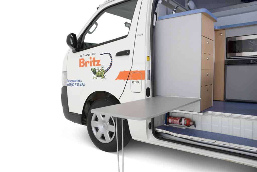 Britz Hitop 2 Berth Camper Gallivanting Oz