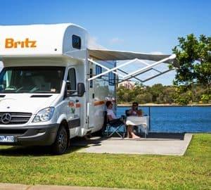 Britz Frontier 6 berth exterior
