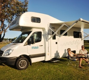 Maui Platinum Beach 4 berth with awning