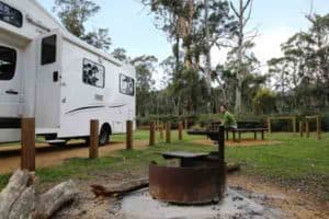 Camping in the Grampians National Park motorhome hire