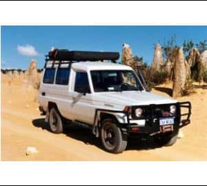 TCC 4WD Troopie with Rooftent (2 or 5 seater)