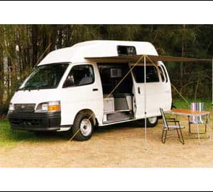 TCC HiTop 4 berth Campervan (2003 models)
