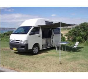 TCC HiTop 4 berth Campervan (2006 - 2009 model)