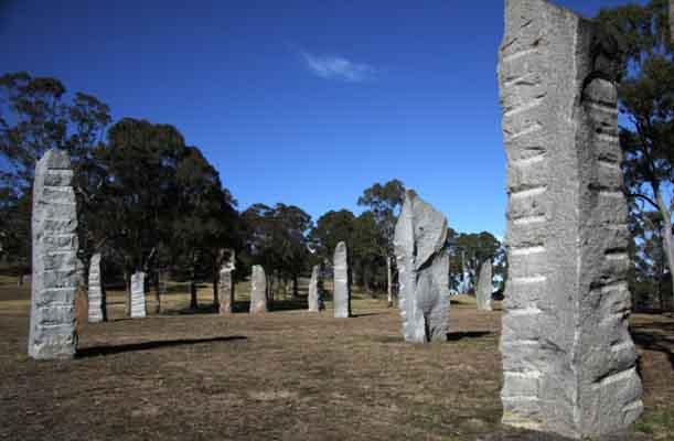 Australia Celtic Stones Glenn Innes NSW