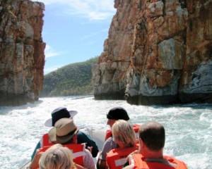 Boat ride through the horizontal falls