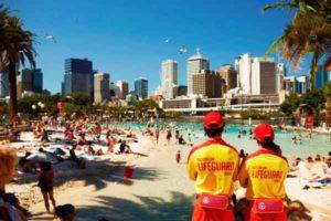 Southbank Beach, Brisbane