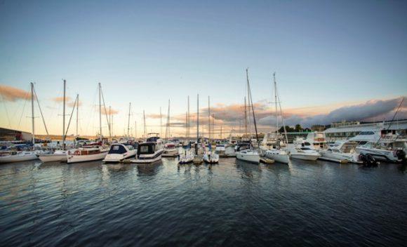 Kings Pier Marina, Hobart waterfront