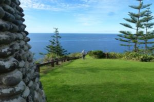 Monument to Captain Cook Norfolk Island