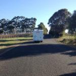 on the road in western australia