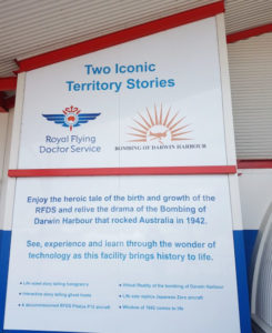 Two Iconic Territory Stories board