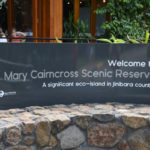 Mary Cairncross Scenic Reserve welcome sign