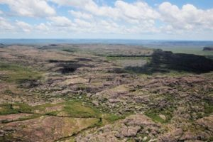scenic flight views over kakadu national park rocky terrain