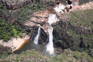 twin falls kakadu national park scenic flight