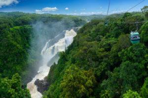 Barron Falls, Skyrail Rainforest Cableway, QLD cairns motorhome hire