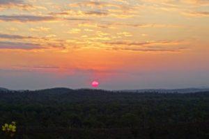 Sunset at Mt Bundy