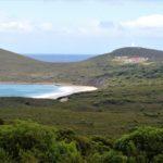 bruny island lighthouse views sea grass tasmania