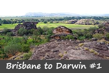 Darwin to Brisbane