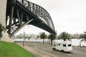 motorhome hire toll roads sydney