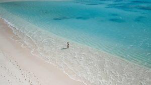australia beach blue waters sand motorhome hire