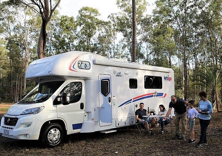 rent a motorhome australia