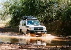 4wd camper hire from darwin