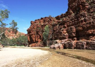 MacDonnell Ranges Adelaide to Darwin