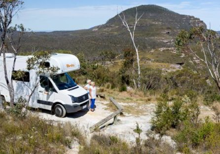 campervan hire savings motorhome mountains